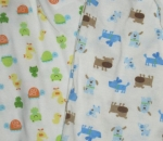 Baby starters 100% cotton pjs GREEN FROGGY AND BLUE DOGS